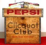 Creative storage: Vintage soda pop woodencrates