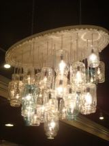 DIY Project: Mason Jar Chandeliers